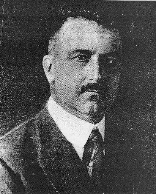 Amadeo Peter Giannini, il fondatore della Bank of America.