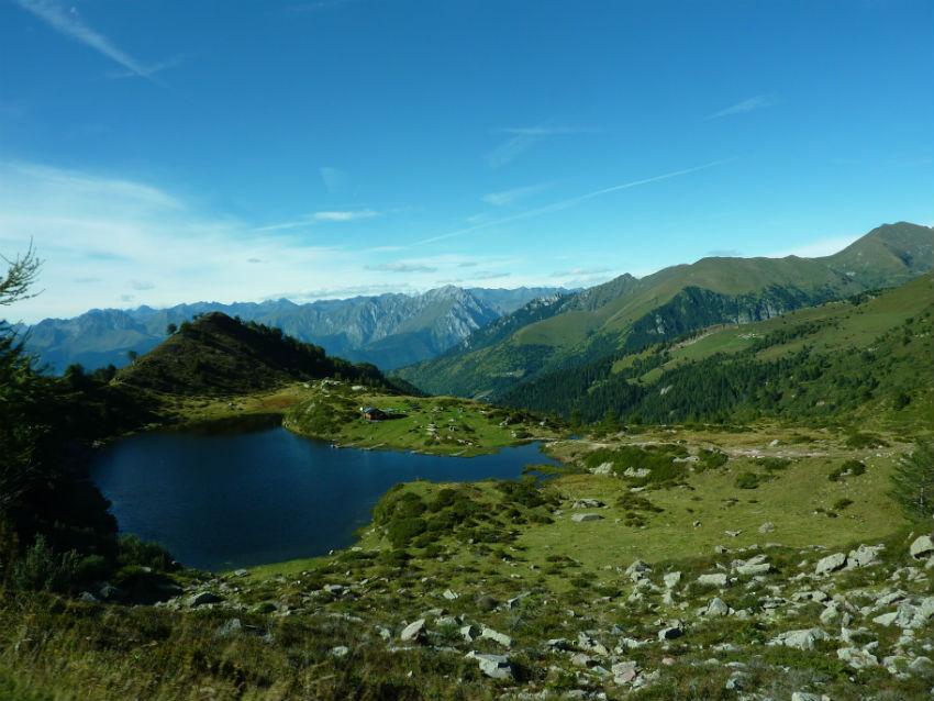 Panorama montano della Valcamonica